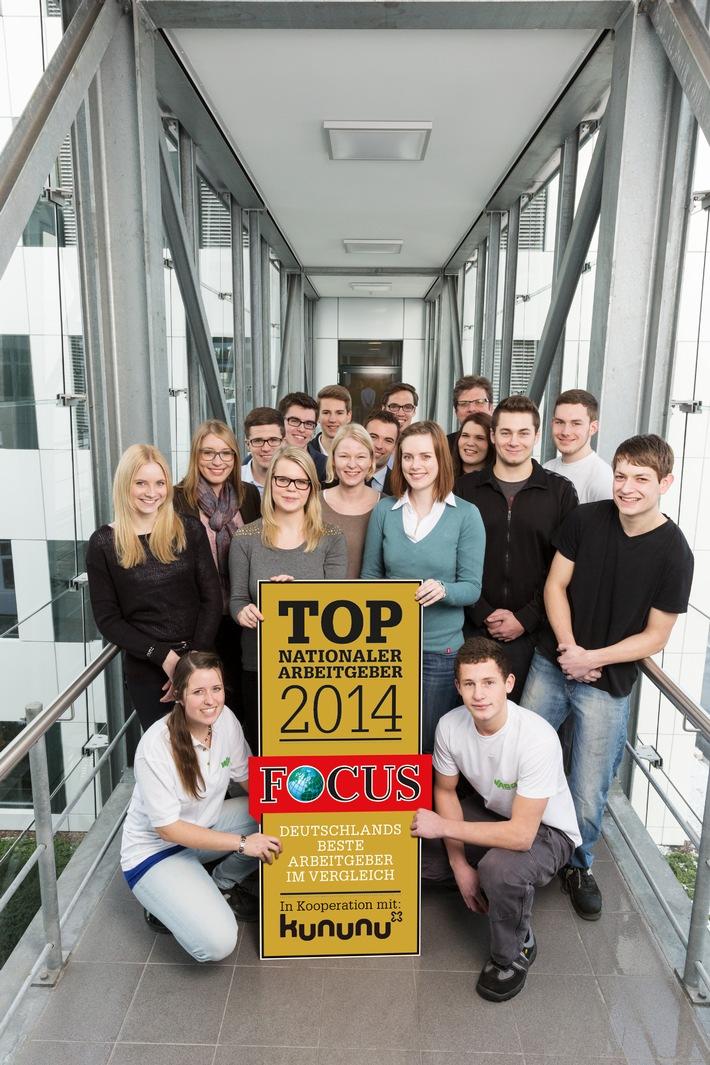 """Nachrichtenmagazin """"Focus"""" zeichnet Wago erneut als einen der besten Arbeitgeber Deutschlands aus"""
