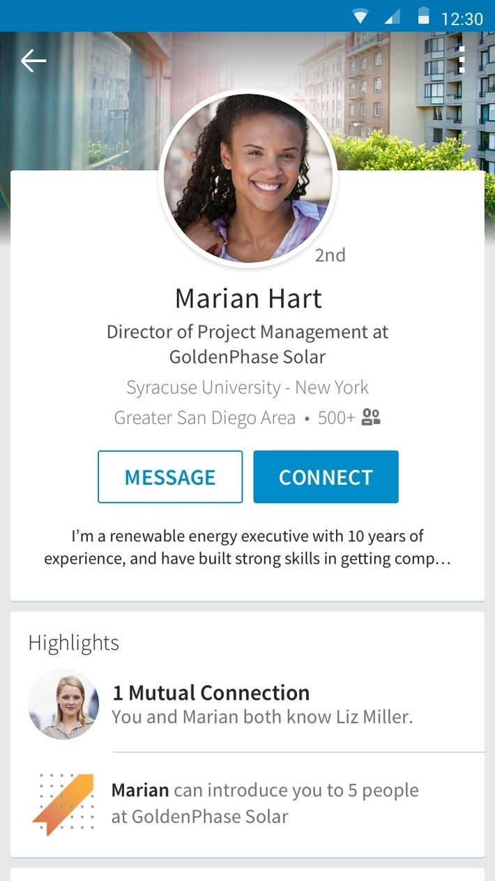 LinkedIn präsentiert neue Haupt-App Voyager