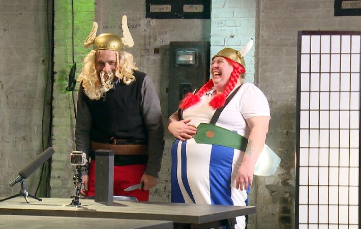 """Asterix und Obelix erobern """"CIRCUS HALLIGALLI"""" am Montag auf ProSieben!"""
