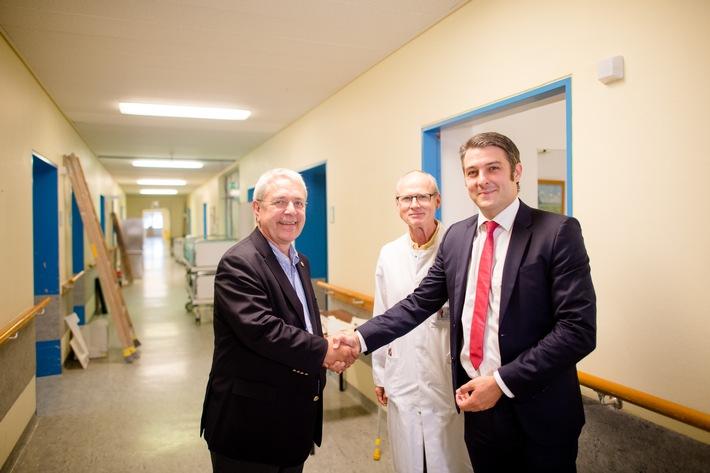 Asklepios Klinikum Harburg hilft Flüchtlingen