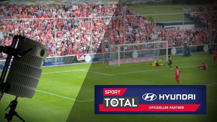 sporttotal.tv und Hyundai gehen umfassende Kooperation ein