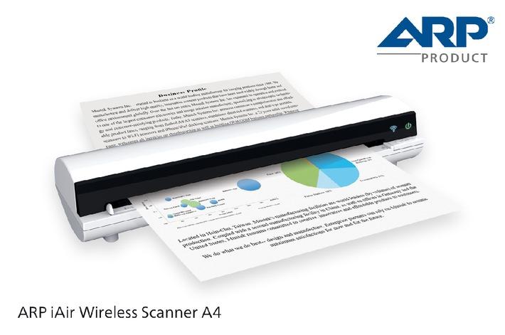 Mobiler Scanner für mobile Geräte