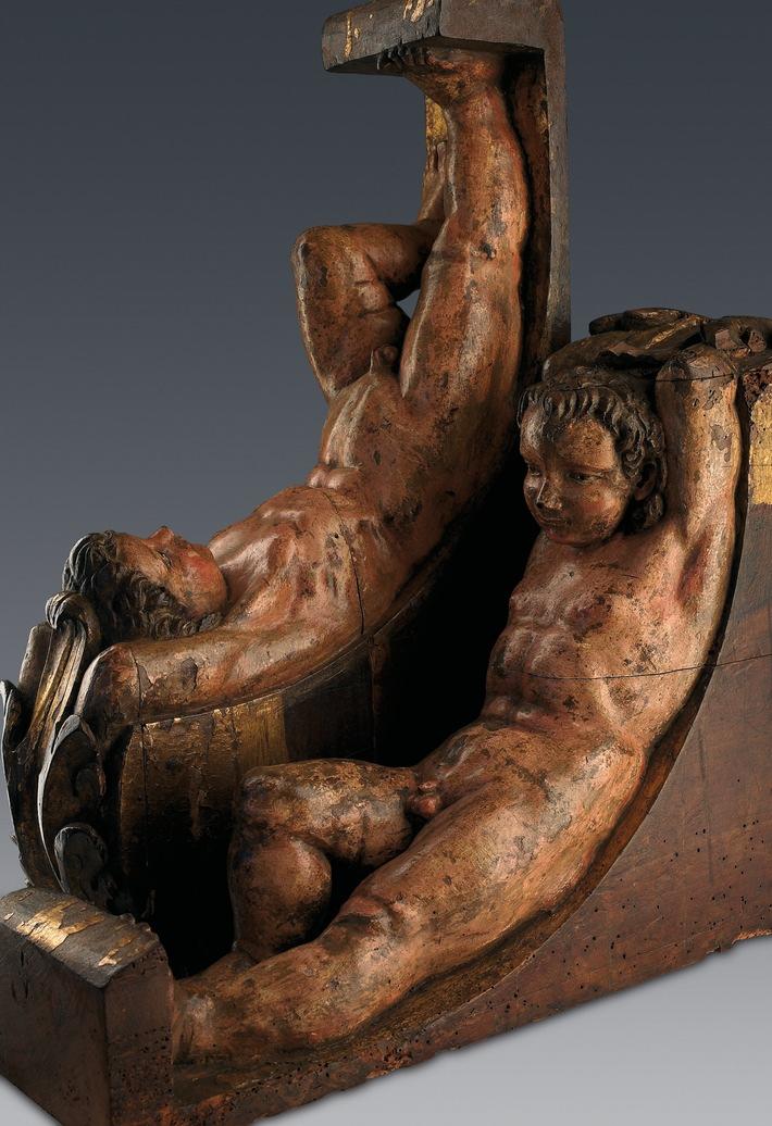Bisher unbekanntes Skulpturenpaar von Michelangelo Buonarroti wurde der Weltöffentlichkeit vorgestellt
