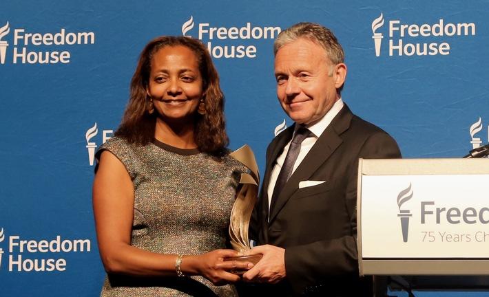Axel Springer mit Corporate Leadership Award von Freedom House ausgezeichnet