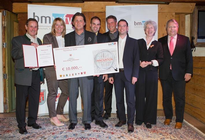 Hexenwasser Söll erobert Österreichischen Tourismus-Innovationspreis