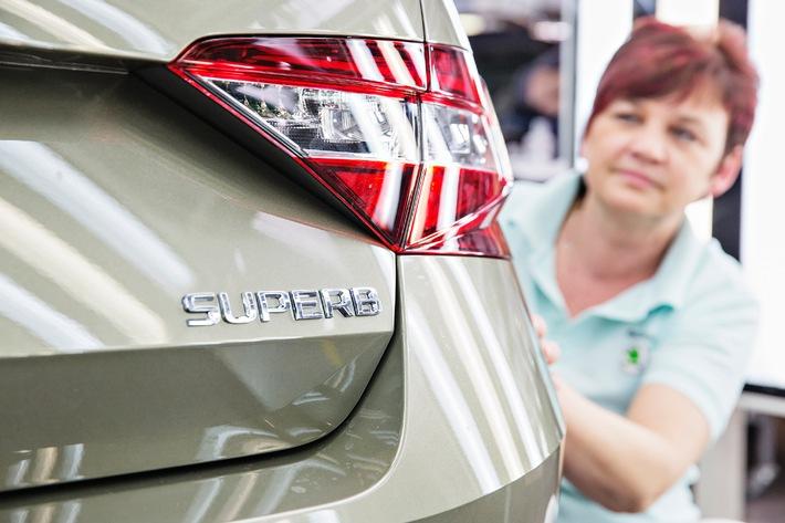 Neue Ära: Produktionsstart für neuen SKODA Superb