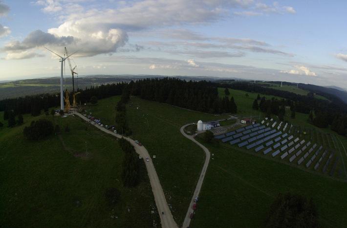 Journée Portes ouvertes à Mont-Soleil: Grand intérêt du public pour les nouvelles éoliennes