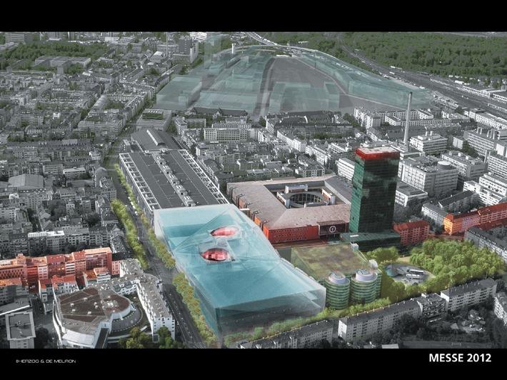 """""""Messezentrum Basel 2012"""": Markante Modernisierung des Messegeländes in Basel"""