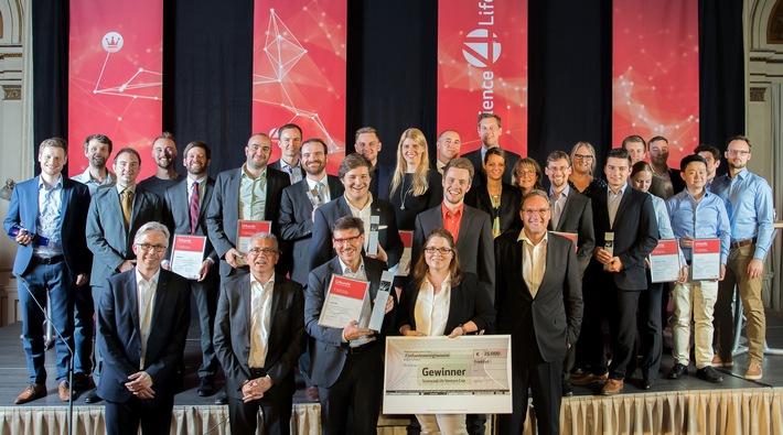 Erneuter Teilnehmerrekord beim Science4Life Venture Cup 2017: Deutsche High-Tech Gründer sind einfach Spitze