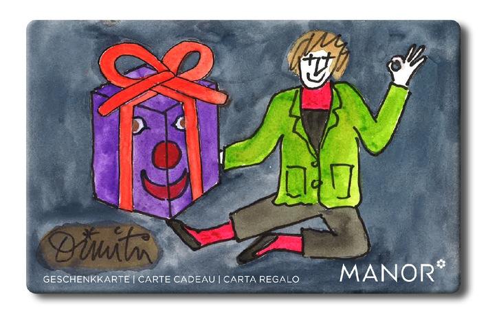 Offrez deux fois du bonheur: Manor pour la Fondation Dimitri