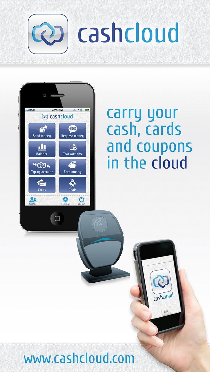 Die gute alte Geldbörse geht in Rente / Cashcloud hat eine mobile eWallet entwickelt inkl. einem Zahlungssystem für Apple iOS und Google Android