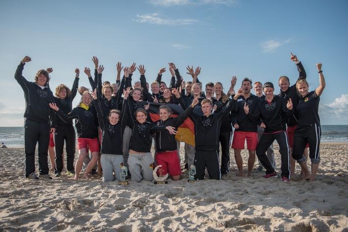 Europameisterschaft im Rettungsschwimmen: DLRG-Nationalmannschaft Zweiter hinter Italien