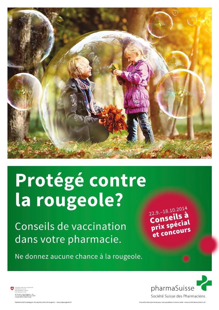 Action sur les conseils de vaccination en pharmacie du 22 septembre au 18 octobre