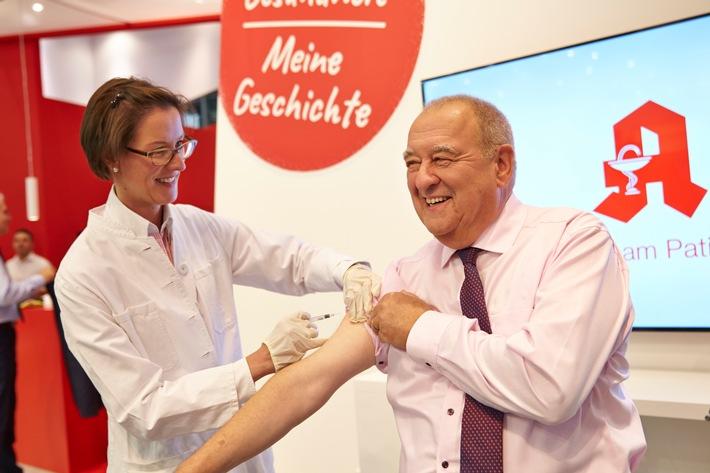 Aufruf zum Grippeschutz: DAV-Vorsitzender Becker geht mit gutem Beispiel voran
