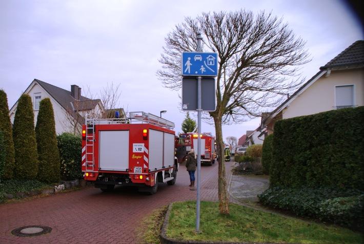 FW-AR: Brand eines Wäschetrockners auf Bergheim schnell gelöscht