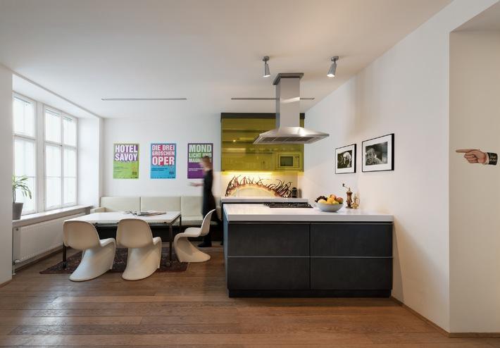 Das Wiener Start-up Chez Cliché bietet 8 perfekt inszenierte Apartments mit fiktiven Gastgebern