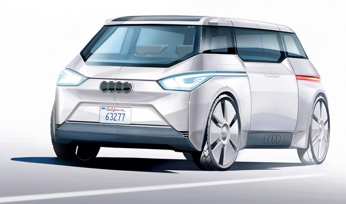 "AUTO BILD: Audi präsentiert vollautonomes Modell ""City"" auf dem Pariser Salon"