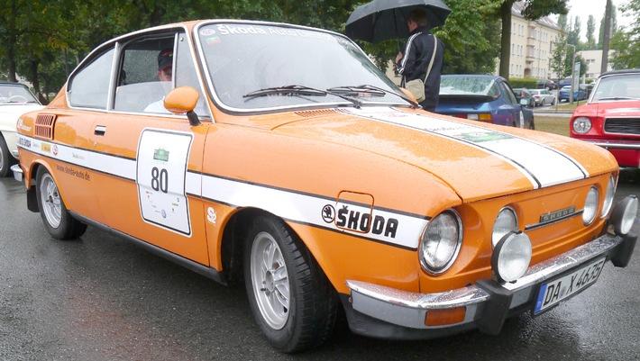 SKODA-Pilot Sepp Wiegand startet bei der Sachsen Classic