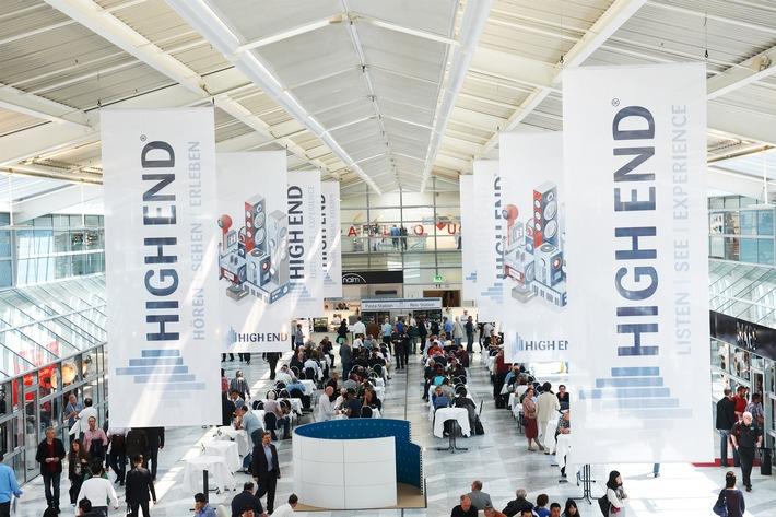 Die HIGH END® als weltweite Leitmesse der Audiobranche findet vom 05.-08. Mai im MOC in München statt