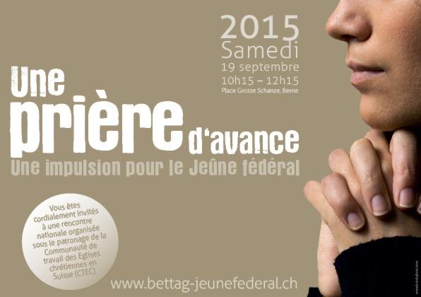 Les Eglises suisses se rassemblent à la veille du Jeûne fédéral