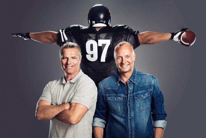 ran an die NFL-Playoffs! SAT.1 startet am Wochenende mit zwei  Top-Duellen in die Football-Liveberichterstattung