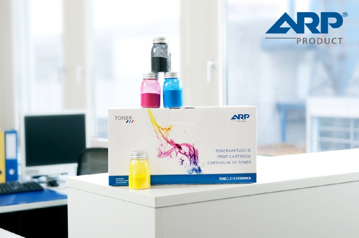Neue kompatible Toner von ARP (BILD)