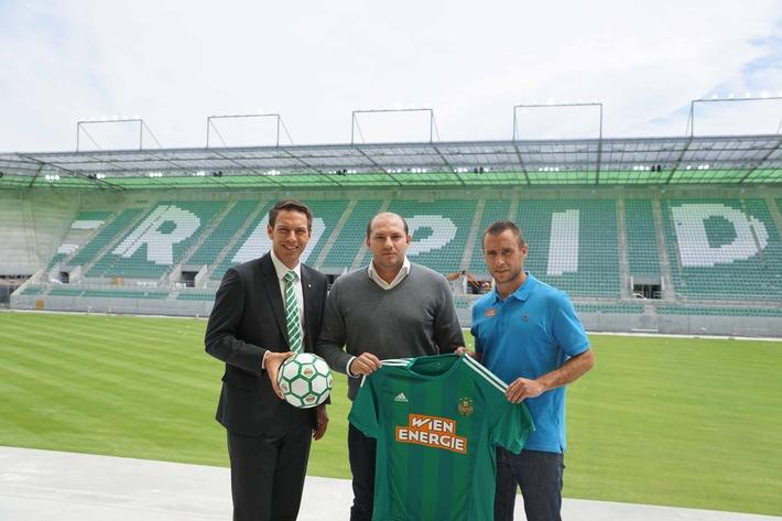 WIENWERT neuer Teampartner des SK Rapid Wien