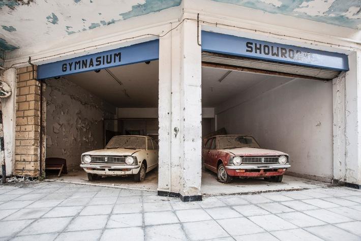 52 Toyota verrotten seit 40 Jahren in der entmilitarisierten Zone von Zypern