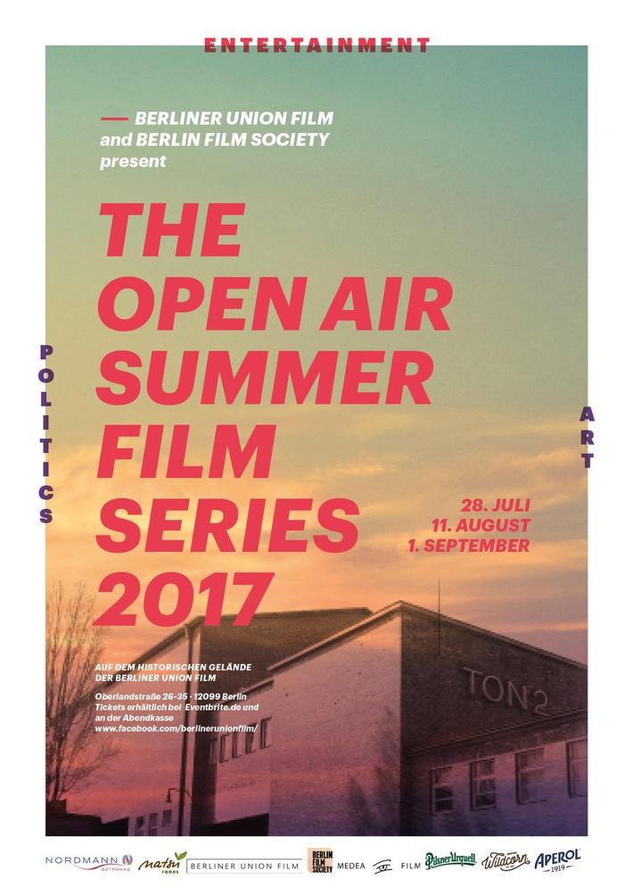 OPEN AIR CINEMA bei der Berliner Union-Film / Start: 'Nan Goldin vs. David LaChapelle'