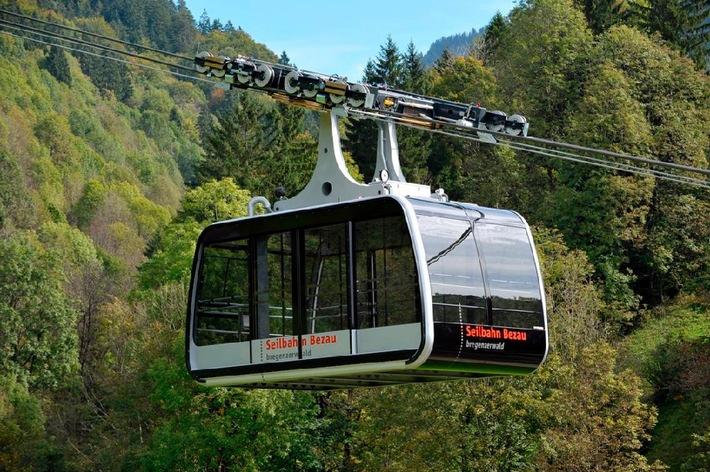 Bregenzerwald: Neue Seilbahn in Bezau