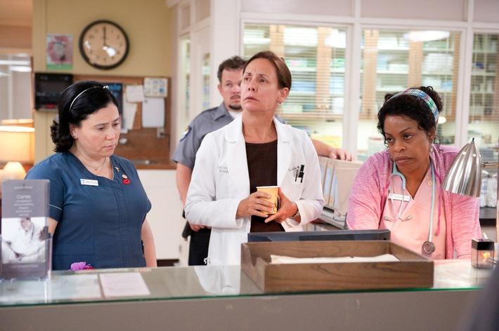 """Altenpflege als Comedy: 2. Staffel der HBO-Serie """"Getting On - Fiese alte Knochen"""" exklusiv auf Sky"""