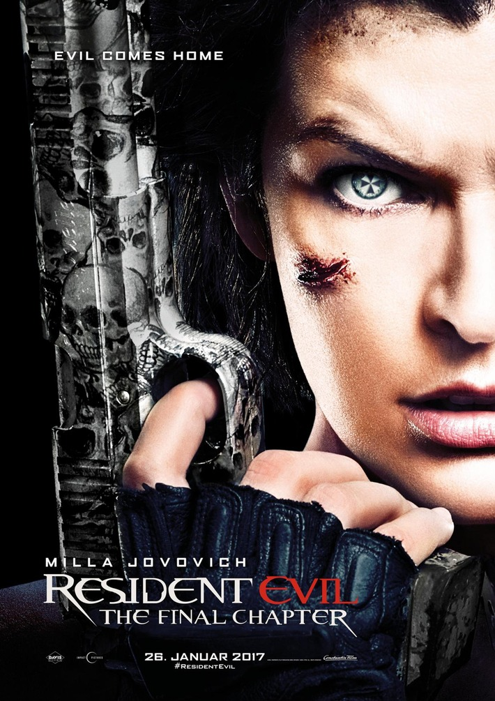 RESIDENT EVIL: THE FINAL CHAPTER / Erster Trailer und Fotos online