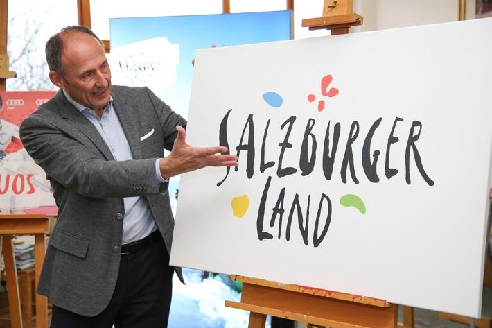 SalzburgerLand präsentiert neue Wort-Bild-Marke und neues Design