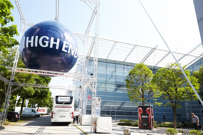 HIGH END 2016 - im MOC München - vom 05. bis 08. Mai / Beste Prognosen für eine erfolgreiche HIGH END 2016