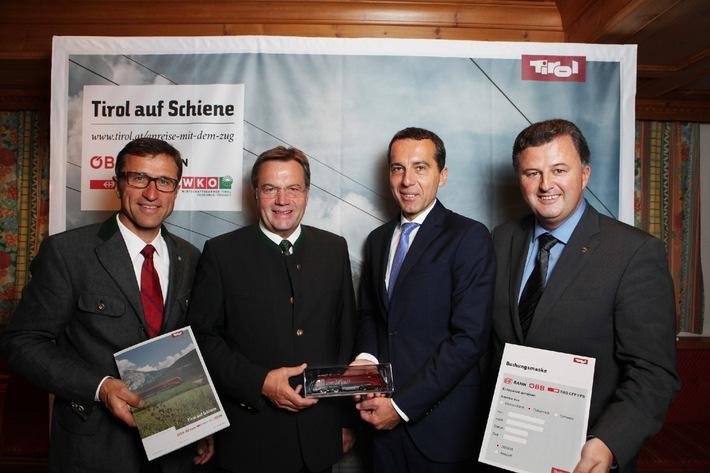 Tirol auf Schiene