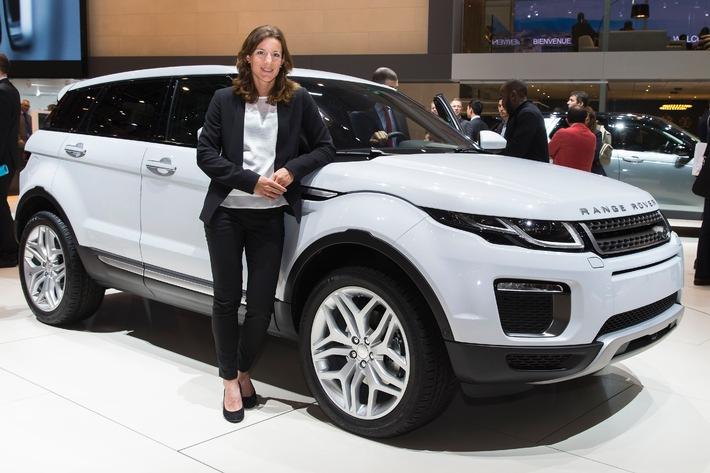 Nicola Spirig: Triathlon Olympiasiegerin 2012 zu Gast bei Land Rover in Genf