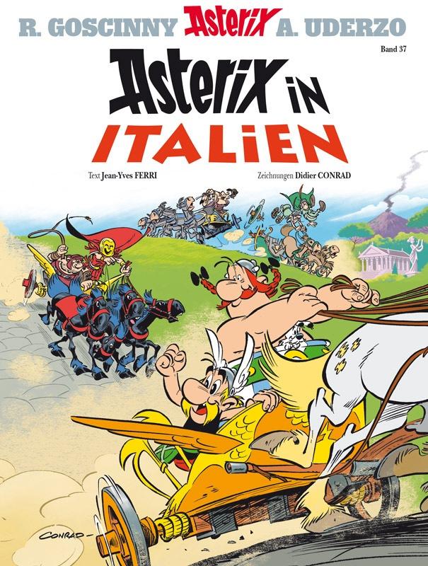 Asterix in italien das cover ist da pressemitteilung for B et b italia