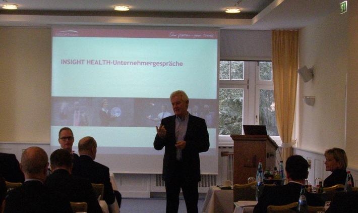 INSIGHT Health-Unternehmergespräche 2015: Stärkere Zusammenarbeit im Gesundheitsmarkt