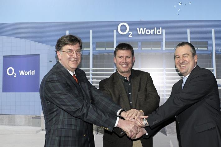 o2 World in Hamburg - Anschutz Entertainment Group schließt Namensrechtevertrag mit Telefónica o2 Germany (mit Bild)
