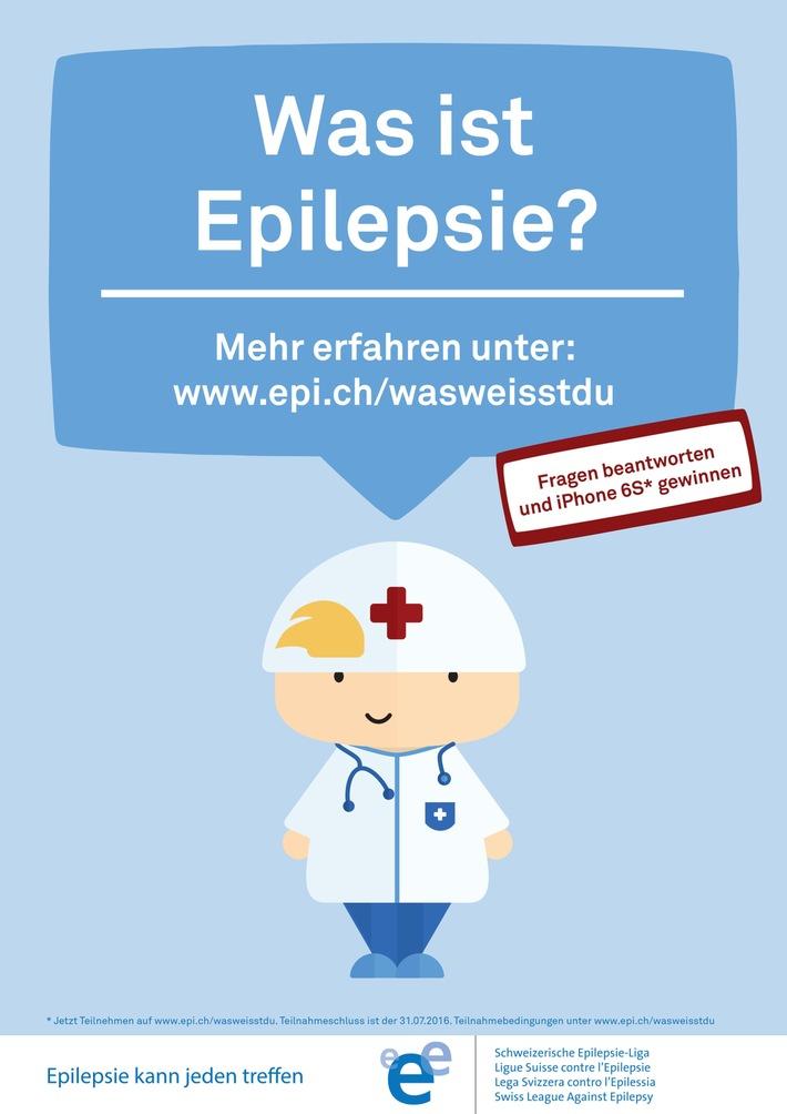 Was weisst du über Epilepsie? / Film mit Lucas Fischer