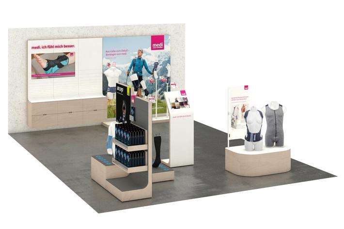 Vorträge, gläserne Werkstatt, multisensuale Inszenierung am PoS / Zukunftsweisend: medi auf der OTWorld 2016 vom 3. bis 6. Mai in Leipzig