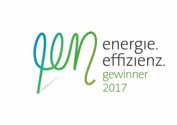 NORMA ist Energieeffizienz-Gewinner 2017! / Mit gutem Beispiel bei Energieeffizienz und Klimaschutz vorangehen