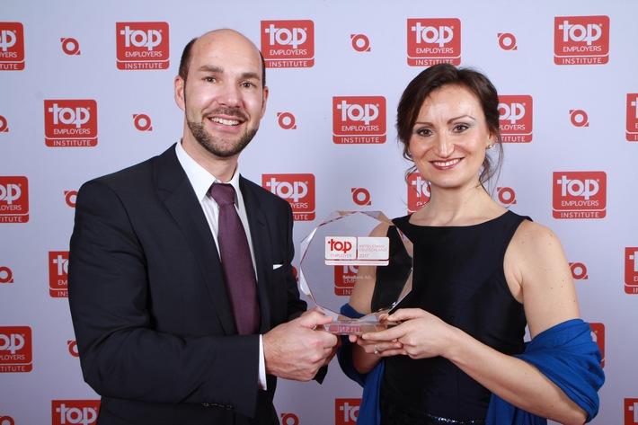 "ReiseBank AGerhält auch 2017 das Zertifikat ""Top Arbeitgeber Mittelstand Deutschland"""