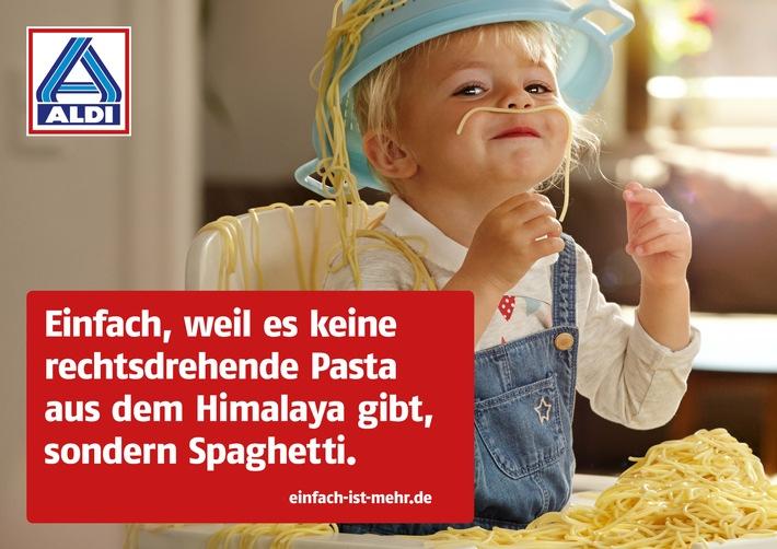 """""""Einfach ist mehr"""": ALDI Nord und ALDI SÜD erstmals in TV, Radio und Kino"""