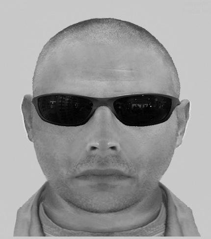 """POL-NE: Raubüberfall auf Apotheke - Polizei fahndet mit Phantombild nach Täter mit """"wulstigem Nacken"""""""