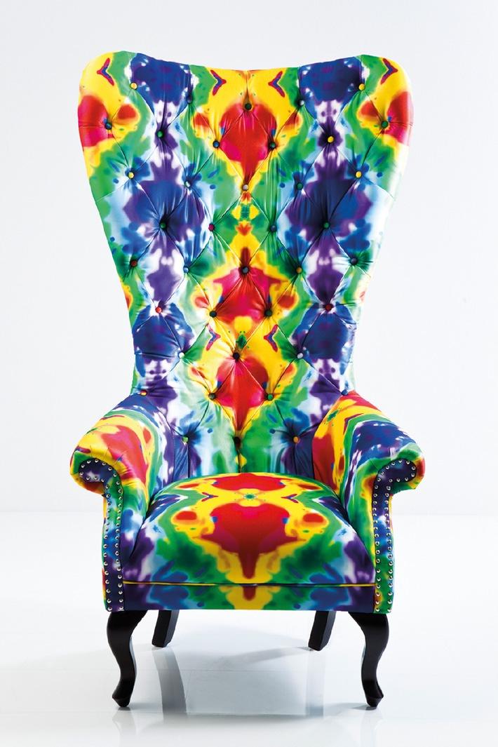 Wohnen, dekorieren, schenken - Trends 2013 Ambiente Pop Art & Fun - Die neue Farbigkeit des Wohnens