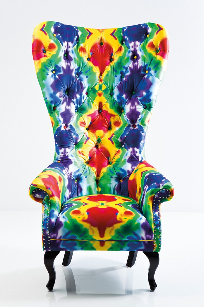 Wohnen, dekorieren, schenken - Trends 2013 Ambiente Pop Art & Fun - Die neue Farbigkeit des Wohnens (BILD)