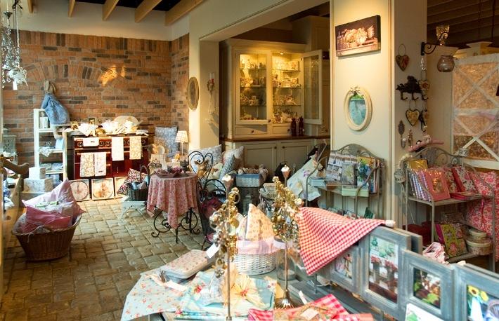 Ein Shop mit zauberhaften Wohnideen