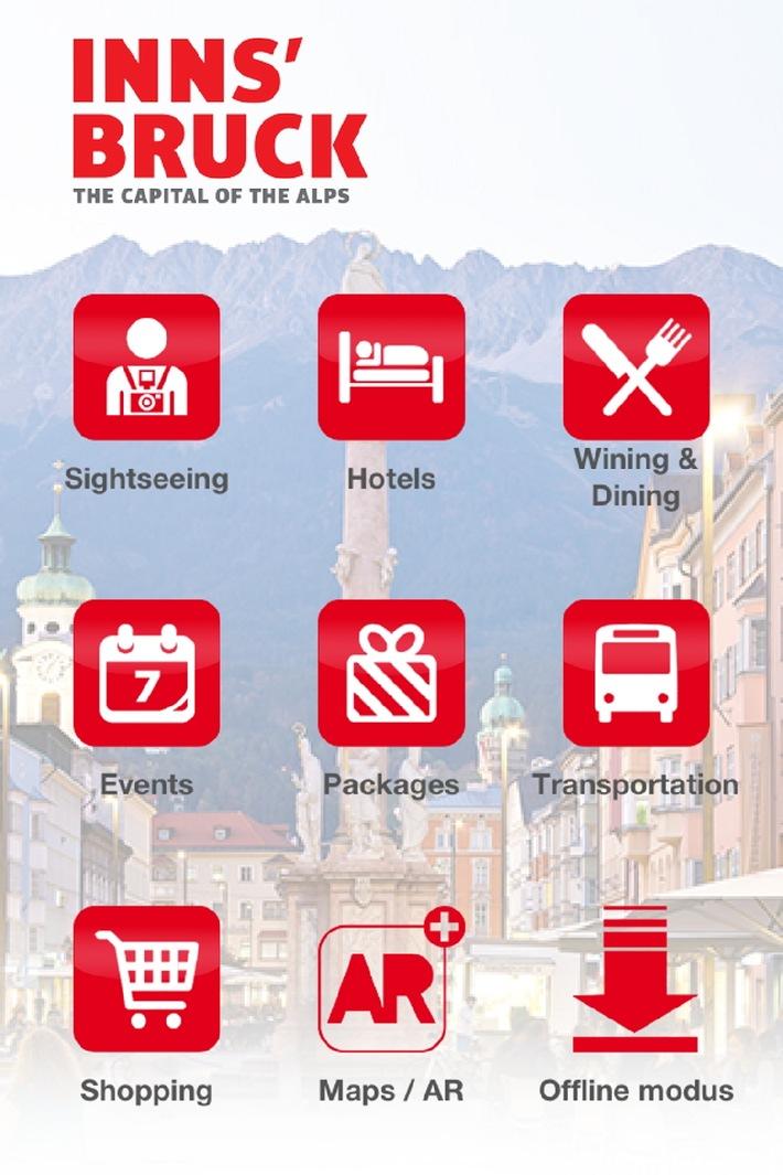 Innsbruck Mobile: die Hauptstadt der Alpen in Ihrer Hand - BILD
