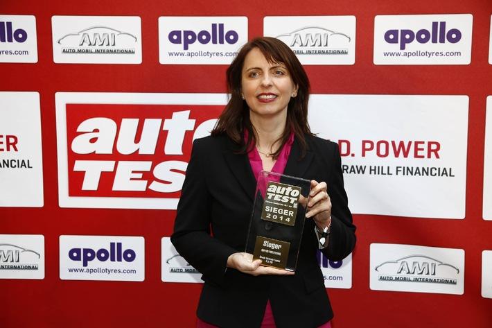SKODA Octavia Combi ist der ,AUTO TEST Importsieger 2014'